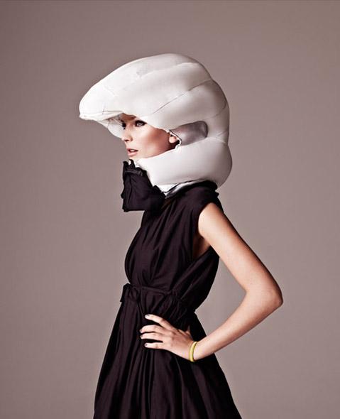 Helmet airbag